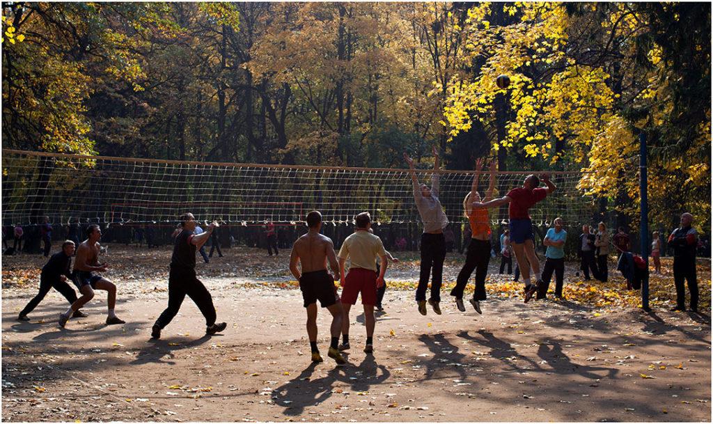 Площадки для волейбола в Царицыно 1