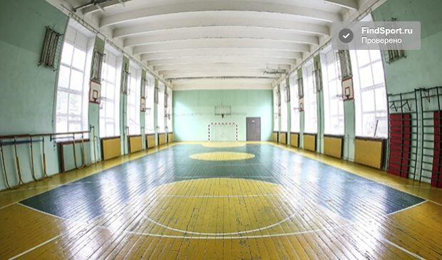 Пример зала с ребристым потолком 2