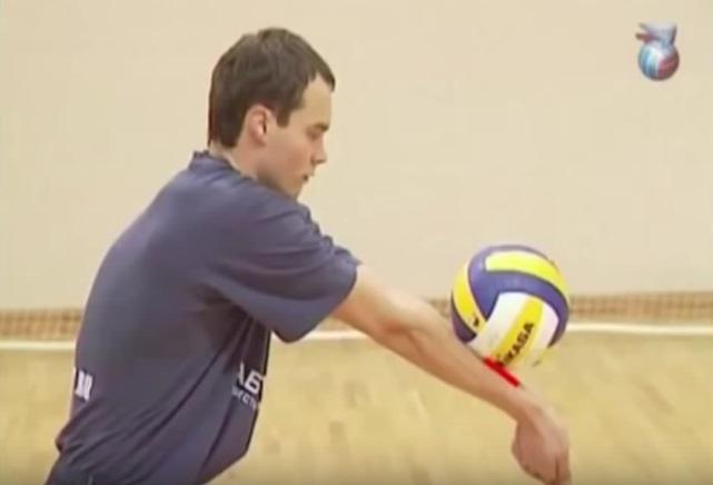 Точка касания мяча