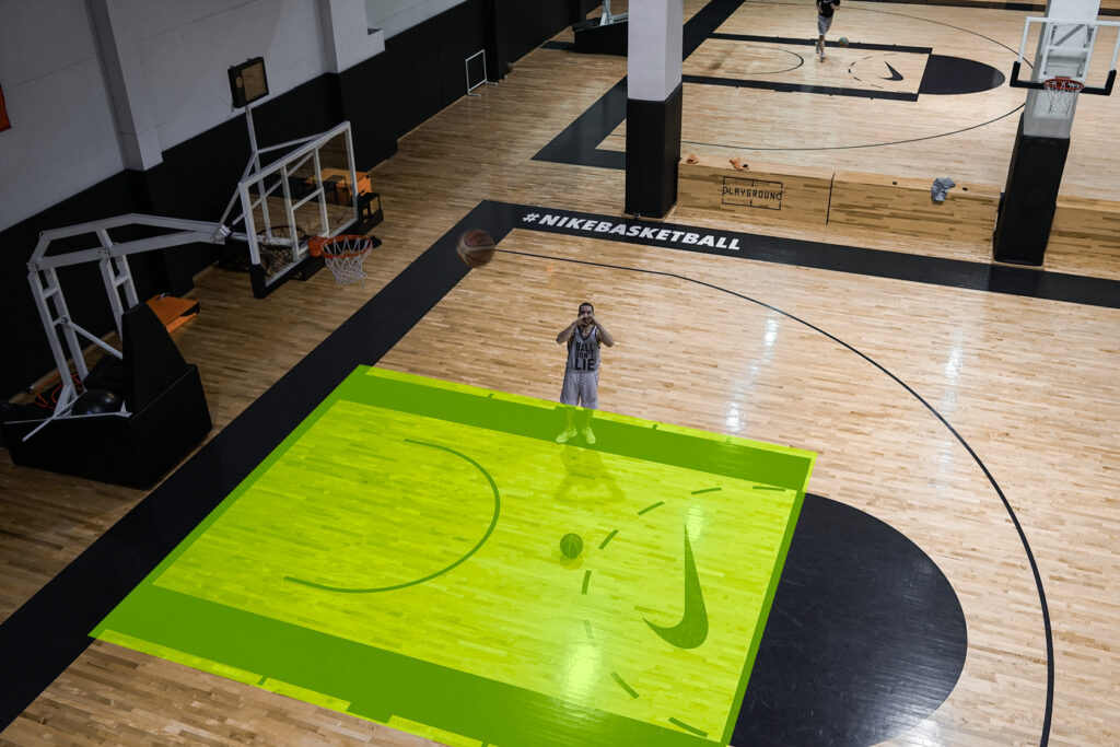 Красная зона в баскетболе