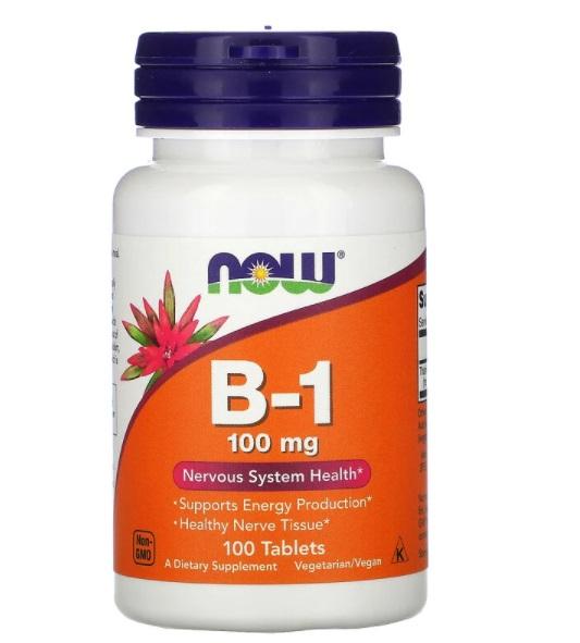 Витамин B-1 от Now Foods